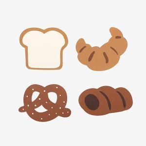 メッセージカード Market Card - 04 Bakery 【メール便対応】 decollections