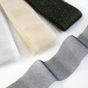 ソフトチュールリボンラメ30mm巾 KIYOHARA 【2.1m巻】【メール便対応】|decollections