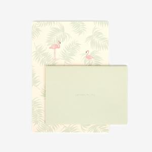 レターセット 01 Flamingo 【メール便対応】|decollections