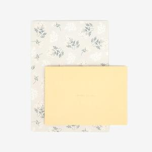 レターセット 05 Lace flower 【メール便対応】|decollections