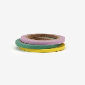マスキングテープ 3mm 3p - 04 Pastel 3mm 3個セット【メール便対応】|decollections
