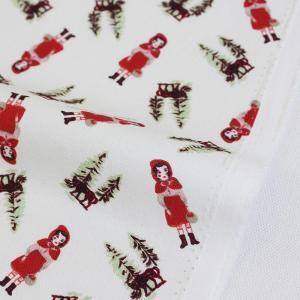 生地・布 ≪  Little red hood≫ オックス生地/幅148cm ナタリーレテ/Nathalie Lete 【10cm単位販売】|decollections