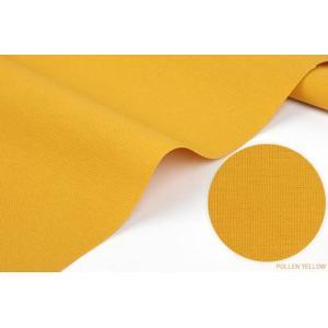 生地・布・入園入学 ≪ Bright yellow ≫ 無地オックス生地/幅110cm 【10cm単位販売】|decollections