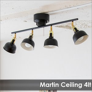 照明 MARTIN マーティン 4灯シーリング|decomode