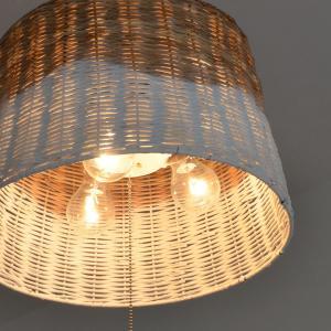 照明 シーリングライト ペンダントライト 3灯 カントリー PRATTAN プラタン Lu Cerca ルチェルカ|decomode|04