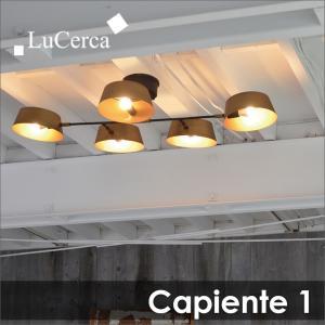 天井照明 Capiente1 カピエンテ1 5灯シーリングライト|decomode