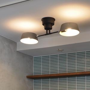 天井照明 Capiente2 カピエンテ2 2灯シーリングライト|decomode|03