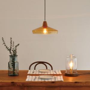 照明 TANT タント テーブルライト LEDレトロエジソン球付き decomode 03
