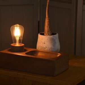 照明 PARE パレ テーブルライト LEDレトロエジソン球付き|decomode|03
