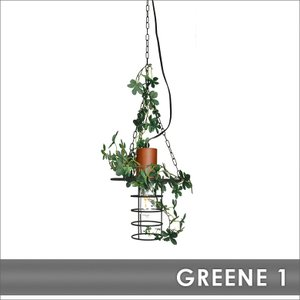 照明 GREENE-1 グリーネ1 1灯ペンダント ガーラント付|decomode
