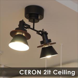 照明 CERON セロン 2灯シーリングスポット|decomode