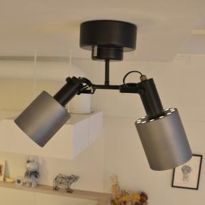 照明 REVO レヴォ 2灯シーリングスポット decomode 04