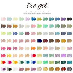 [ゆうパケット 送料無料]カラージェル [ irogel ] ジェルネイルをする全ての人を応援する特価販売 美発色 カラー品番17〜32