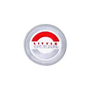 LOワッペン(リトルプレゼンツ)■ライトグレイ■OA-14【ゆうメール150円配送可】|decoon2193