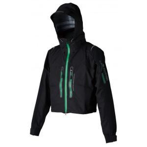 BS 3レイヤーウェーディングジャケット(パズデザイン)■ブラックグリーン■SBR-033 decoon2193