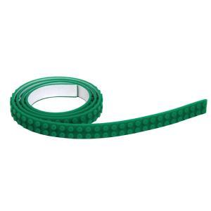 シリコンブロックテープ 切れる 曲がる 貼れる 2ドット テープ ブロック LEGO互換性 グリーン|decopartsfactory