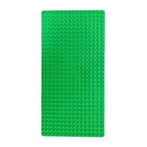 レゴ デュプロ 互換性 同規格品 基礎板 ベースプレート レンガのおもちゃ ブロックプレート フレッシュグリーン|decopartsfactory