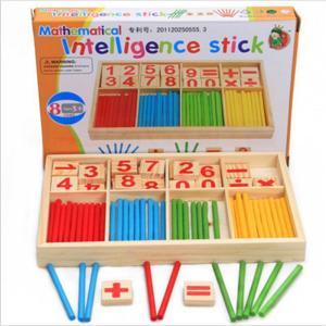 木製 教育玩具 知育学習 カラフル算数セット 小学生 プレゼント 入学祝い 基礎|decopartsfactory