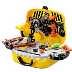 【商品説明】 男の子は、組み立てるのが大好きです! 憧れの道具を使える喜びが、子どもの好奇心を刺激す...