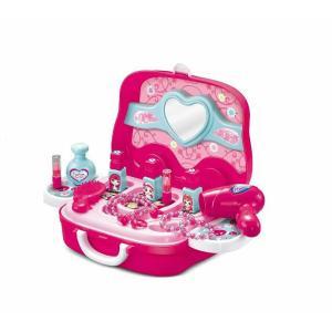 【商品説明】 お姫様のメイクアップ定番 15点パーツがいったおもちゃのセットです。 持ち手がついてる...