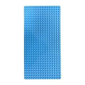 レゴ デュプロ 互換性 同規格品 基礎板 ベースプレート レンガのおもちゃ ブロックプレート (ブルー)|decopartsfactory