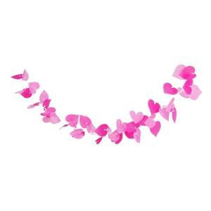 ピンクハートコード(1103004)[春飾り バレンタイン ガーランド 販促グッズ]|decorationlabo