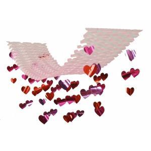 バレンタインハートプリーツハンガー(1113019)[バレンタイン 飾り 販促グッズ 店内装飾 プリーツハンガー]|decorationlabo