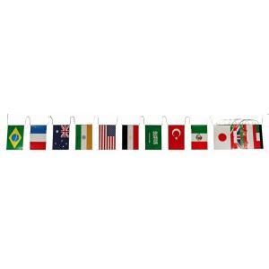 エコ万国旗(165)[万国旗 イベント用品 店舗用品 販促品 運動会 店内装飾]|decorationlabo