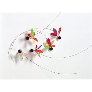 ペーパー追羽根ピック(5本/パック)(DE0359)[お正月 追羽根 ピック 飾り 装飾] decorationlabo