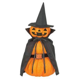 ハロウィンナイト(グリッター)(DE1419)[ジャックオーランタン カボチャ パンプキン ディスプレイ 置物 ハロウィン デコレーション 装飾 飾り かぼちゃ]|decorationlabo