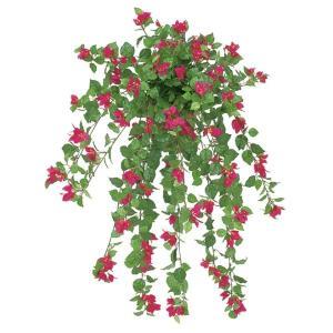 ブーゲンビリアブッシュ(L)(ビューティー)(FLB0121LBEA)[ブーゲンビリア 造花 ブッシュ 束 アートフラワー]|decorationlabo
