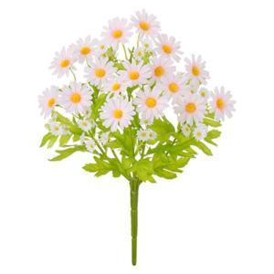 ミニデイジーブッシュ(ピンク)(FLB8094PK)[ミニデイジー デイジー 造花 ブッシュ 束 アートフラワー]|decorationlabo