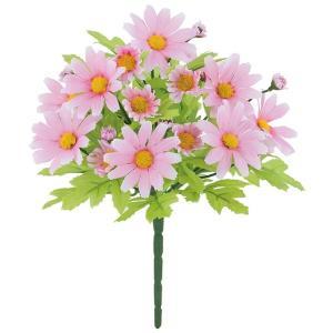 フレッシュデイジーブッシュ(ピンク)(春の造花・アートフラワー)