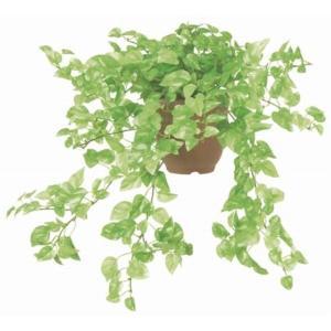 ミニポトスブッシュ(M) *18(フレッシュグリーン)(観葉植物・フェイクグリーン)《ポット(容器)は別売りです》|decorationlabo