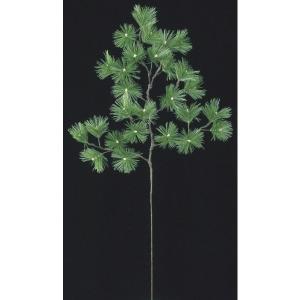 五葉松スプレイ(LL) *27(コーティングステム)(LES5037LL)[フェイクグリーン リーフ スプレイ 人工観葉植物]|decorationlabo