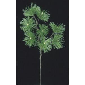 五葉松スプレイ(M) *8(コーティングステム)(LES5037M)[フェイクグリーン リーフ スプレイ 人工観葉植物]|decorationlabo
