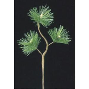 五葉松スプレイ(S) *3(コーティングステム)(LES5037S)[フェイクグリーン リーフ スプレイ 人工観葉植物]|decorationlabo