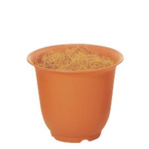 ノアポット 6号(容器のみ)(ブラウン)(N0006)[造花用 ポット 鉢 容器 オアシス ノアポット 6号 ブラウン 茶]|decorationlabo