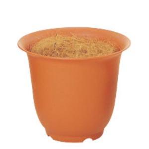 ノアポット 7号(容器のみ)(ブラウン)(N0007)[造花用 ポット 鉢 容器 オアシス ノアポット 7号 ブラウン 茶]|decorationlabo