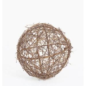ツウィグボール(L)(ND1025L)[秋 デコレーション 飾り 装飾 ツウィグボール]|decorationlabo