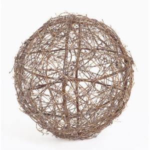ツウィグボール(LL)(ND1025LL)[秋 デコレーション 飾り 装飾 ツウィグボール]|decorationlabo