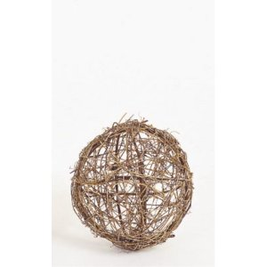 ツウィグボール(M)(ND1025M)[秋 デコレーション 飾り 装飾 ツウィグボール]|decorationlabo