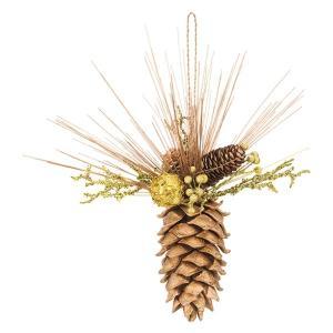 デコレーションコーンハンギング(グリッター)(ND1072)[クリスマス デコレーション オーナメント 松ぼっくり]|decorationlabo