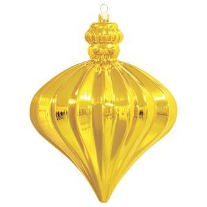 シャインオニオンボール(リッチゴールド)(OXM1286RIGO)[クリスマス デコレーション 飾り オーナメント]|decorationlabo