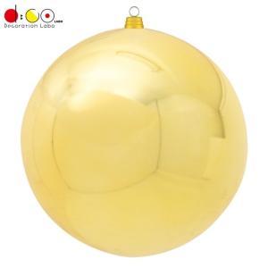 600mmメタリックボール(1ケ/パック)(ゴールド)(OXM1516GO)[クリスマス 飾り オー...