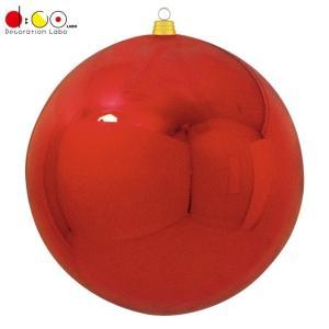 600mmメタリックボール(1ケ/パック)(レッド)(OXM1516RD)[クリスマス 飾り オーナ...
