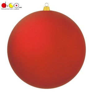 600mmフロストボール(1ケ/パック)(フロストレッド)(OXM1536FSRD)[クリスマス 飾...
