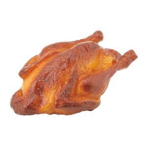 ローストチキン(プラスチック)(VF1202)[食品サンプル フェイクフード ディスプレイ 肉 チキン ローストチキン クリスマス]|decorationlabo
