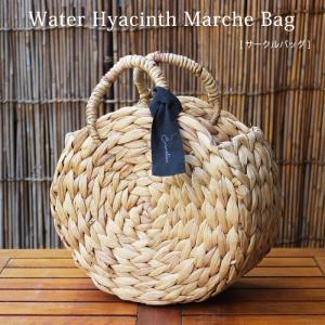 ( POINT! ) ふっくらとした編み上がり。編み目を太めに出したウォーターヒヤシンスのバッグ。 ...