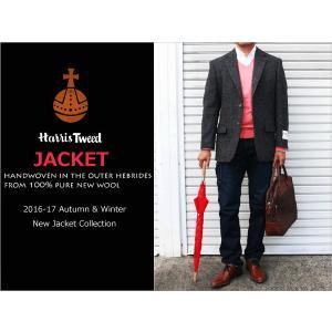 2016-17秋冬モデル 新品 英国 ハリスツイード Harris Tweed 茶ブラウン系オーバープレイド 大柄チェック 格子 2ボタン ジャケット (A/AB/BB体) NT01-2B j2w|decte